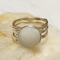 stacked band ring