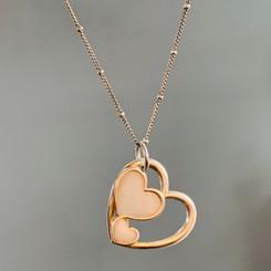 triple hearts charm