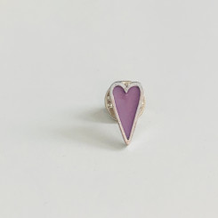 breastmilk heart pin