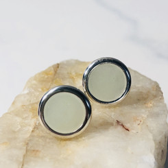 open frame earrings