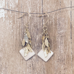 autumn dangle earrings