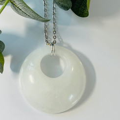 large double circle pendant