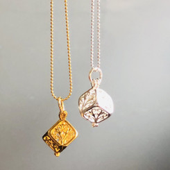 square cage locket