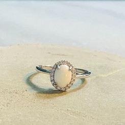 halo oval breast milk ring