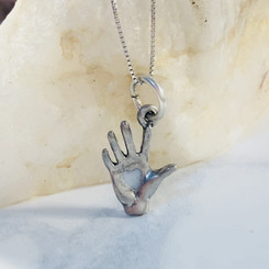 heart in hand charm