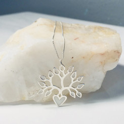 heart tree of life pendant