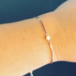 dainty link bracelet