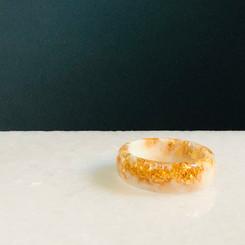 smooth metallic ring