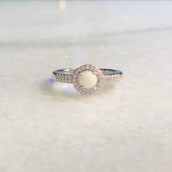 double row halo ring