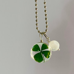 lucky pearl necklace