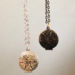 full filigree locket