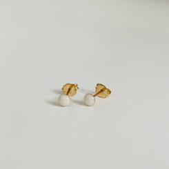 tiny gold studs