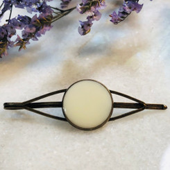 bezel hair pin