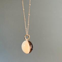 split coin pearl