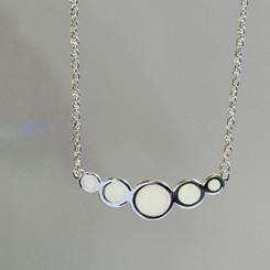 five circles necklace