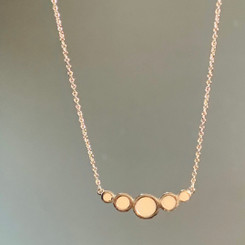 five circles necklace