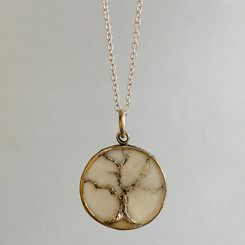 bare tree pendant