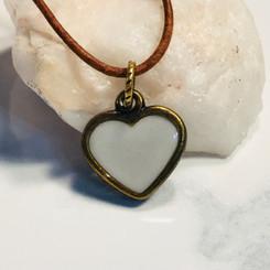 locked heart charm