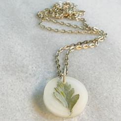fern milk pendant