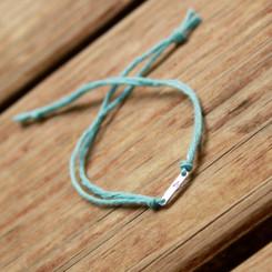 initial wish bracelet