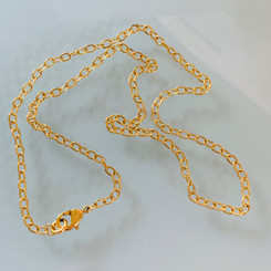 textured fine cable chain