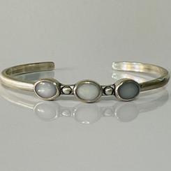 bezel cuff bracelet