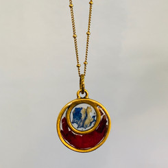 myah flower pendant