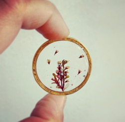 large flower pendant