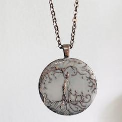 mother tree of life milk pendant