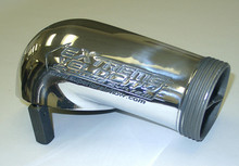 Polished Aluminum 4150 Series Gasketed Carb Hat