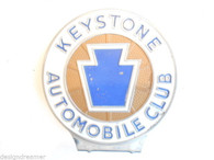 Keystone Automobile Club License Plate Topper Emblem Pennsylvania