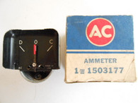 Vintage NOS 50 's 60 's AC GM Ammeter Gauge Buick Pontiac Cadillac Chevy 1503177