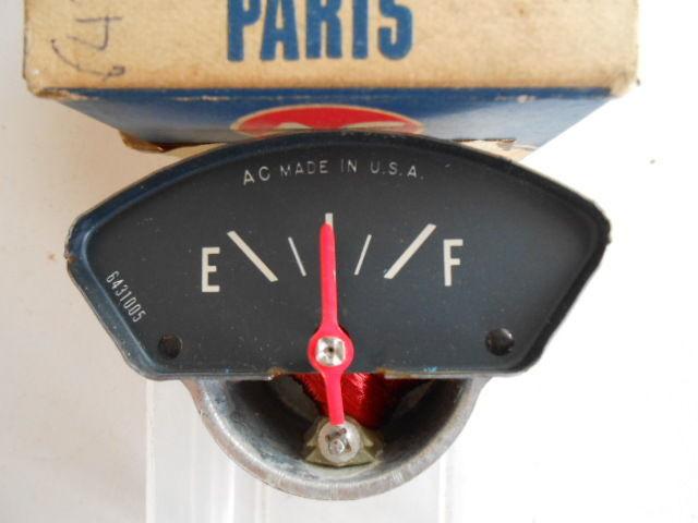 NOS 1968 PONTIAC F6 F8 FUEL GAS GAUGE AC ORIGINAL OEM 6430930