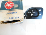 1971 - 1974 , 76 Chevrolet 1975 Pontiac 1976 Buick Ammeter Amp Gauge NOS