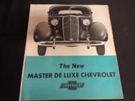 1935 Master Deluxe Chevrolet Brochure 35 Chevy