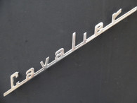 1937 Graham Cavalier Model 95 Hood Emblem Logo NOS
