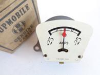 1934 34  HUPMOBILE HUPP AMP AMMETER INDICATOR Dash Gauge NOS FACTORY