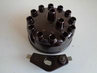 1928 41 Nash Twin Six Distributor Cap & Rotor NORS 29 30 31 32 33 34 35 36 37 39