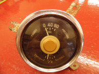 1950 Plymouth Deluxe 6V Fuel Oil Pressure Gauge Cluster