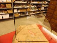 1937 GRAHAM COUPE QUARTER WINDOW LH GLASS PART No. 206466