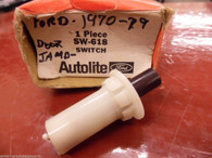 1967 Ford Courtesy Light Door Switch AUTOLITE SW-618 C7SC-13713