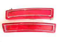 1968 Rambler American Wagon Tail Light Lens Pair NOS