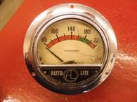 "1950 's AUTO-LITE TEMP TEMPERATURE 4"" DASH GAUGE RAT HOT ROD STREET SCTA"