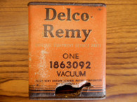 NOS Delco Remy 1936 OLDSMOBILE 8 Distributor Vacuum Advance Chamber Control