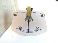 1935 Hupmobile 518 D Amp Ammeter Gauge NOS Original Stock
