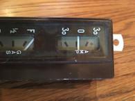 1938 HUPMOBILE GASOLINE FUEL AMPERE AMP STEWART WARNER DASH GAUGE CLUSTER  NOS