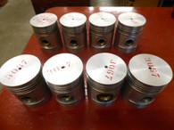 1932 1933 Hupmobile 226 326 (8) Piston w/ Pin Set NOS #79959