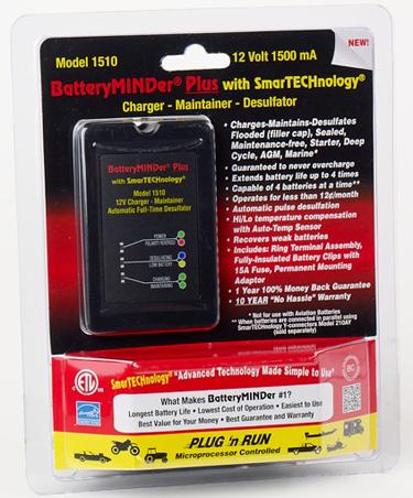 batteryminder 1510 12 volt maintenance charger with 10 year warranty rh batteryminders com