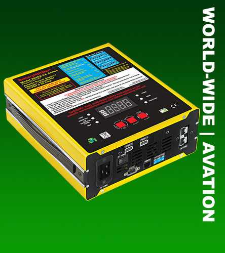 BatteryMINDer 28252-AA: 28 Volt 25 Amp (28V 25A) Aviation Power Supply/Charger/Maintainer/Desulfator
