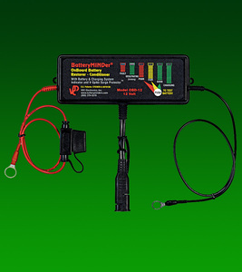 BatteryMINDer® Model OBD-12: 12V On-Board Desulfator